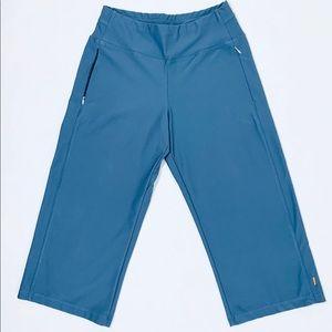 Lucy Everyday Wide Leg Capri Pants Sz XS
